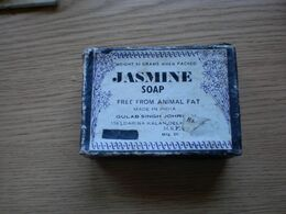 Old Cardboard Box Jasmine Soap India - Boxes