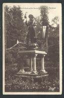 +++ CPA - FERRIERES - Statue De St Roch Au Petit Séminaire De St Roch   // - Ferrières