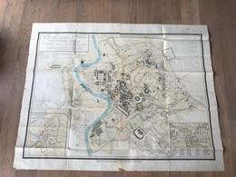 Carte Geante 1/4000 - Rome FORMA URBIS ROMAE - Imperatorum Aetate - 1949 - Carte Geographique