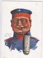 Em. Dupuis - Lille 1914 - Soldat D'Infanterie (Laudaurm Allemand) - Characters