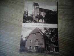 Heidwiller Eglise Et Restaurant - Autres Communes