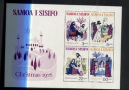 (stamps / 3-8-2020) Samoa I Sisifo Mini-sheet (mint) 1 Mini-sheet (Christmas) - Samoa