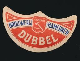 BROUWERIJ 'T HAMERKEN  BRUGGE  DUBBEL - Beer