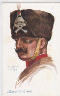 Em. Dupuis - Lille 1914 - Hussard De La Mort - Characters
