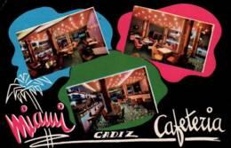 """CPSM - CADIZ - CAFETERIA """"MIMA"""" - Edition Pub - Cádiz"""
