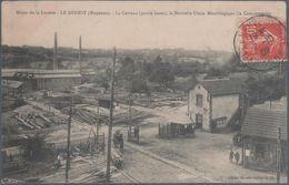 Mines De La Lucette , Le Genest , Le Carreau , La Nouvelle Usine Métallurgique , Animée - Le Genest Saint Isle