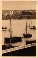 CPA Morgat- Au Port,le Repos De Barques Apres La Peche FRANCE (1026486) - Morgat