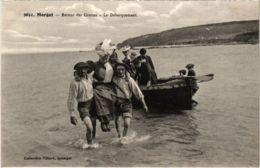 CPA Morgat- Retour Des Grottes,Le Debarquement FRANCE (1026488) - Morgat