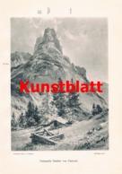 696 Freiherr Von Saar Compton Erschließung Karnische Alpen Artikel Von 1905-1908 !! - Stampe
