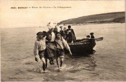 CPA Morgat- Retour Des Grottes, Le Debarquement FRANCE (1026500) - Morgat