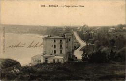 CPA Morgat- La Plage Et Les Villas FRANCE (1026508) - Morgat