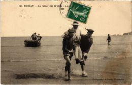 CPA Morgat- Au Retour Des Grottes FRANCE (1026514) - Morgat