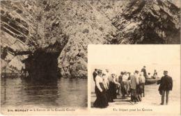 CPA Morgat- Entree De La Grande Grotte,Un Depart FRANCE (1026517) - Morgat