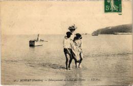 CPA Morgat- Debarquement Au Retour Des Grottes FRANCE (1026520) - Morgat