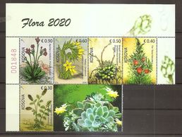 KOSOVO,2020 FLORA,PLANTS,MNH - Kosovo
