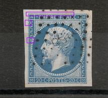 N°14 A PLANCHER 4 MARGES - 1853-1860 Napoléon III