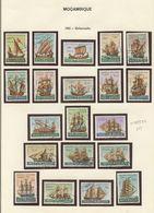 Used Stamps, Lot, MOÇAMBIQUE, 1963 Embarcações, 1964 Galeotas + Diversos  (Lot 524) - Mozambique