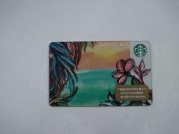 China Gift Cards,100 RMB,  Starbucks, 2020,  (1pcs) - Gift Cards