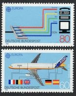 1988Germany1367-1368Europa Cept / Airplane2,50 € - 1988