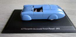 RENAULT 4 CV Barquette Des Records Vernet-Pairard 1952- ELIGOR 1/43ème - Eligor