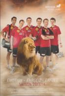 Germany Fancard From Borussia Dortmund Saison 2013/14 Tabletennis (G114-32) - Table Tennis