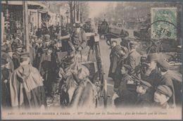 Les Femmes Cocher à Paris , Mme Dufaut Sur Les Boulevards , Animée - Francia