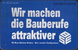 GERMANY K1718/93 Industriegewerkschaft Bau-Steine-Erden - Deutschland