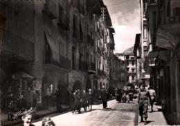 CPSM - SEO De URGEL - Rue Principale Et Le MARCHE ...  - Edition V.Claverol - Lérida