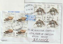 Vietnam .Lettre Pour La France. Rapaces. Birds Of Prey. - Vietnam