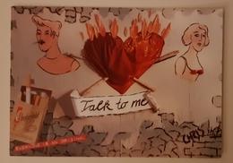 Chesterfield Smoke Carte Postale - Publicidad