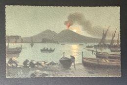 FD2 - Italy Beautiful Vintage Postcard - Napoli (Naples) Volcano - Napoli (Naples)