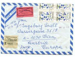 Argentina Letter Cover Expres Posted 1982 Villa Belgrano CBA Pmk B200725 - Lettres & Documents