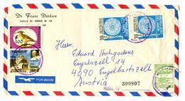 Dr Franz Derksen ONLF FRONT Of Letter Cover Posted 1980 B200725 - Paraguay