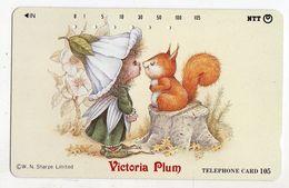 TELECARTE JAPON VICTORIA PLUM - Comics