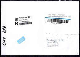 Serbien, Brief / EINSCHREIBEN Von Novi Pazar Nach Deutschland; C-184 - Serbia