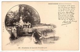 22 - BRETAGNE ( Collection E. H.) - Fontaine Et Lavoir (Basse Bretagne) - Ed. E. H., S.-B. - France