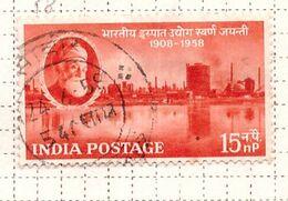 PIA - INDIA  - 1958 : Cinquantenario Della Siderurgia Nazionale  - (Yv 93) - Usati