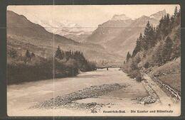Carte P De 1908 ( Heustrich-Bad / Die Kander Und Blümlisalp ) - BE Bern