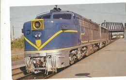 CPSM ,Th.Transp , N°27790 , Delaware & Hudson ,on September 20, 1975 , The Delaware & Hudson .Ed. A.V.D. - Trenes