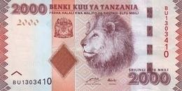 TANZANIA P. 42a 2000 S 2010 UNC - Tanzania