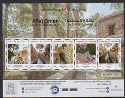 Oman (2019) - Block -  /  UNESCO World Heritage - Architecture - Irrigation - Schlösser U. Burgen