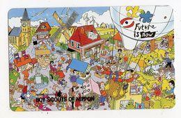 TELECARTE JAPON ASSOCIATION BOY SCOUTS OF NIPPON - Japon