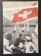 FD2 - La Suisse Pays De Vacances Trés Joli Guide Des Années 60 + Carte - Culture