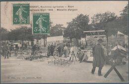 Albert Monnet , Niort , Machines Agricoles , 1906 , Médaille D' Argent , Animée - Niort
