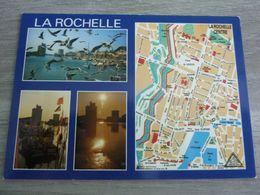 LA ROCHELLE - Plan Centre Ville - Multi-vues - Editions Elce - - La Rochelle