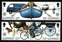 1988Guernsey417-420PaarEuropa Cept / Transport3,50 € - 1988