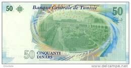 TUNISIA P. 94 50 D 2011 UNC - Tunisia