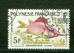 Poisson; Polynésie Française / French Polynesia; Scott # 199; Usagé (3352) - Polinesia Francese