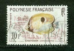 Poisson; Polynésie Française / French Polynesia; Scott # 200; Usagé (3353) - Polinesia Francese