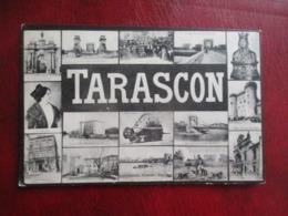CPA 13 TARASCON MULTI VUES - Tarascon